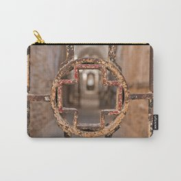 Prison Medical Ward Gate Cross Carry-All Pouch