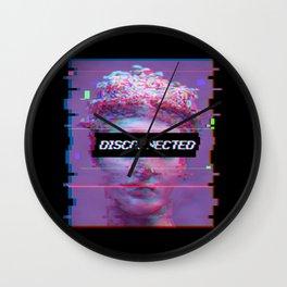 David Statue Anti-Social Aesthetic Art Gift Wall Clock