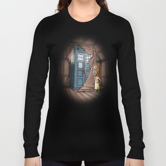 Bigger on the Inside! Long Sleeve T-shirt