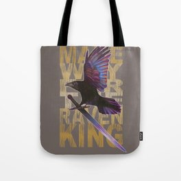 The Messenger/ Raven Cycle Tote Bag
