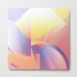 Sunset Miami Ice – No.1 Metal Print