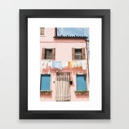 Burano, IV Framed Art Print