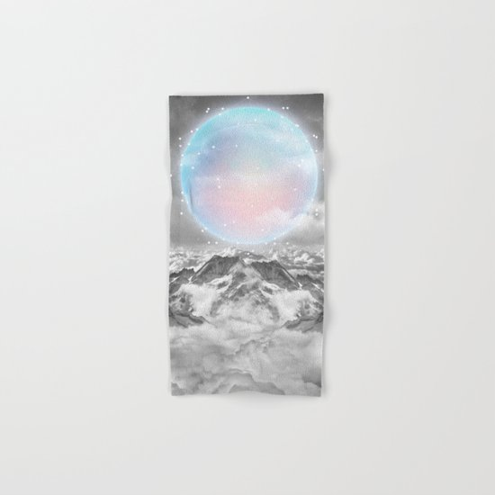 Places Neither Here Nor There (Guardian Moon) Hand & Bath Towel