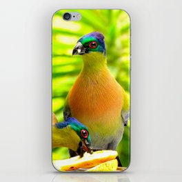 """Banana Split"" by ICA PAVON iPhone Skin"