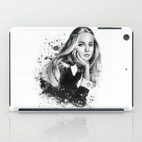 cara iPad Cases featuring Cara by NZL Illustrations