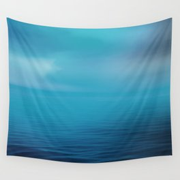 The Big Blue Wall Tapestry