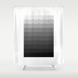 50 Shades of Gray Shower Curtain
