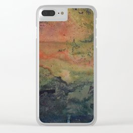 Dawn in the Forest Clear iPhone Case