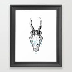 Exactly Perfect  Framed Art Print
