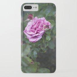 rainy pdx rose garden iPhone Case