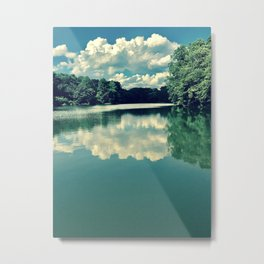 Process of Evaporation Metal Print