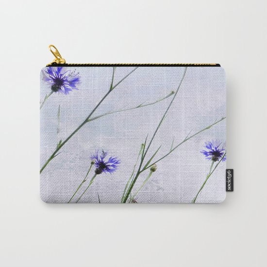 Cornflowers blue II Carry-All Pouch
