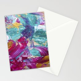Abstract painting 5 Stationery Cards