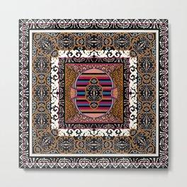 Tibet Mandala Metal Print