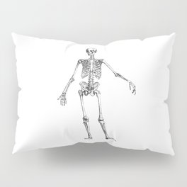 No body to dance with - skeleton Pillow Sham