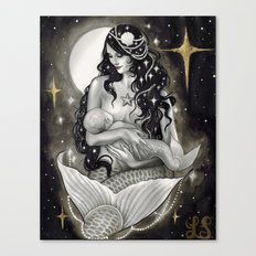 Mermother Canvas Print
