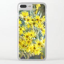Nature's Bouquet Clear iPhone Case