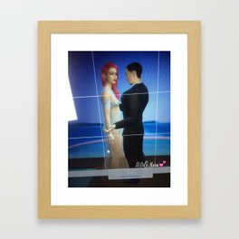 New Autographed print with Mara and her soul mate  Framed Art Print