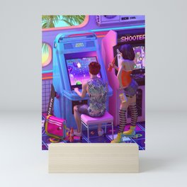 Back to the Arcade Mini Art Print