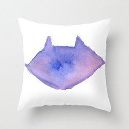 Bloo Raccoo Throw Pillow