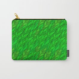 seamless pattern of green leaves Carry-All Pouch