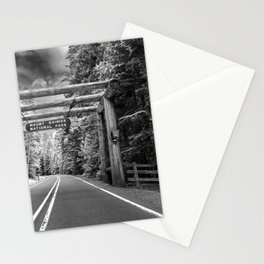 Driving To The Park Stationery Cards