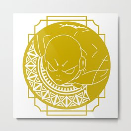 Stained Glass - Dragonball - Jiren Metal Print