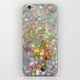 Rainbow Stones iPhone Skin