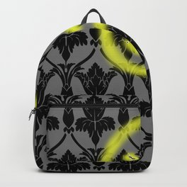Sherlock smiling wall Backpack