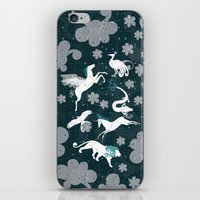 constellation iPhone & iPod Skins featuring  Constellation  by Liluna