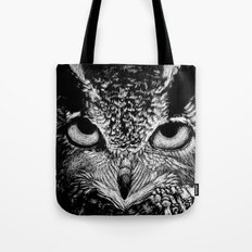 My Eyes Have Seen You (Owl) Tote Bag