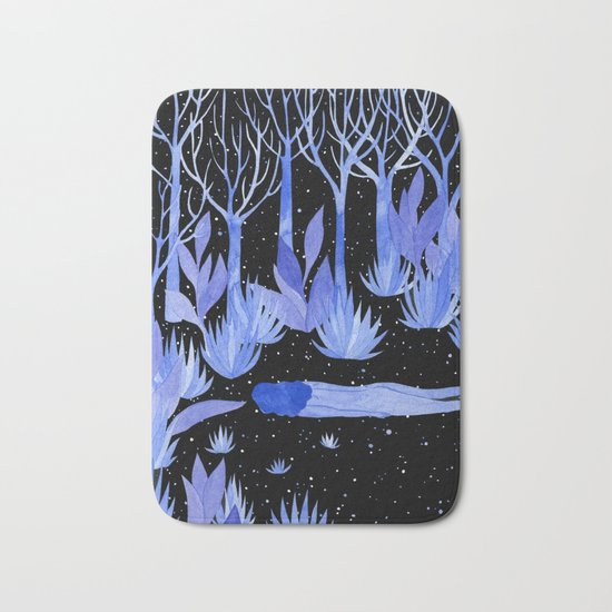 Space garden Bath Mat