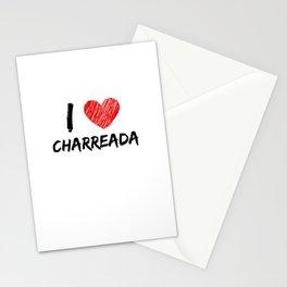 I Love Charreada Stationery Cards
