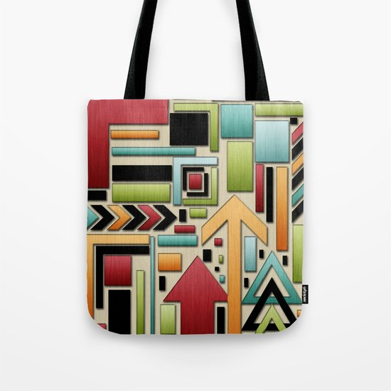 Retro Junk. Tote Bag