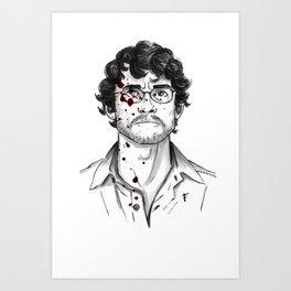 Will Graham - Hannibal Tryptch Art Print