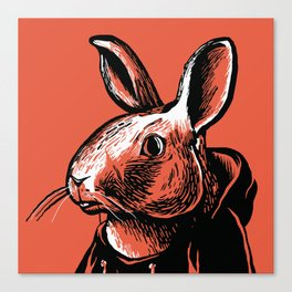 That Damn Bunny Canvas Print