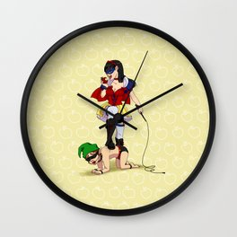 Mistress Snow White Wall Clock