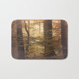 Autumn Came, With Wind & Gold. Bath Mat