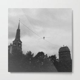 Equilibrist Metal Print