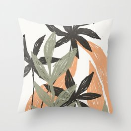 lawn - selva collection Throw Pillow