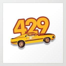 The Boss 429 Art Print