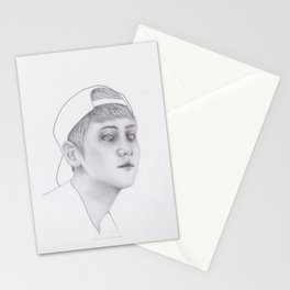 Hazard in Lab 160 Stationery Cards