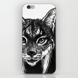 Lynx bobcat iPhone Skin