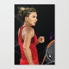 Simona Halep Canvas Print