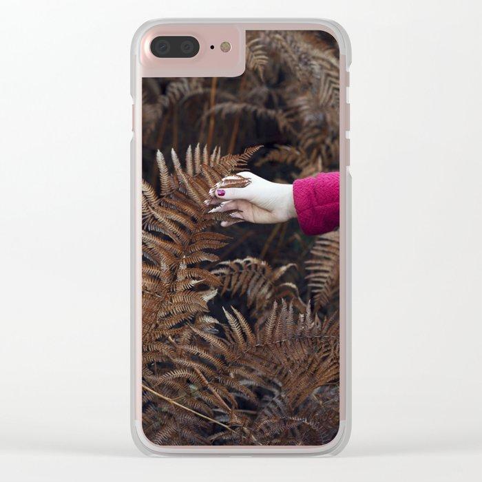 Autumn feel Clear iPhone Case
