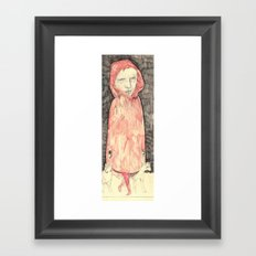 sketchbookfigure Framed Art Print