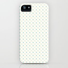 Dotty dotty iPhone Case