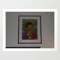 MO'Skahlo Art Print