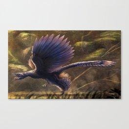 Microraptor Gui Restored Canvas Print