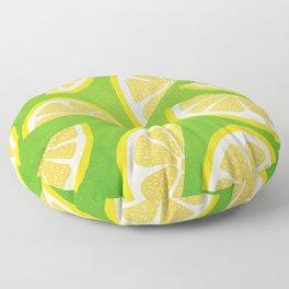 Lemon Slices Floor Pillow